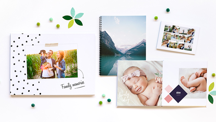 Your photobook personalised now