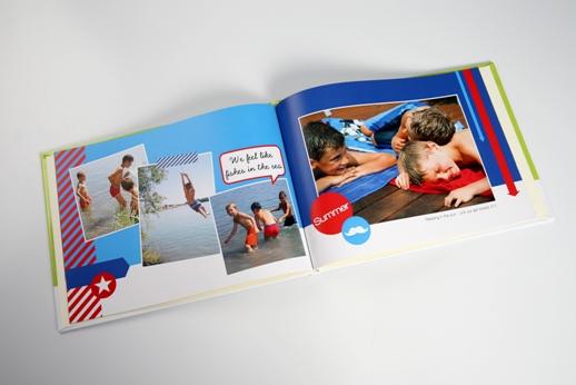 Fotobücher bewahren die Ferienerinnerungen