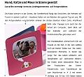 Auszug aus dem PDF: Hund, Katze und Maus in Szene gesetzt