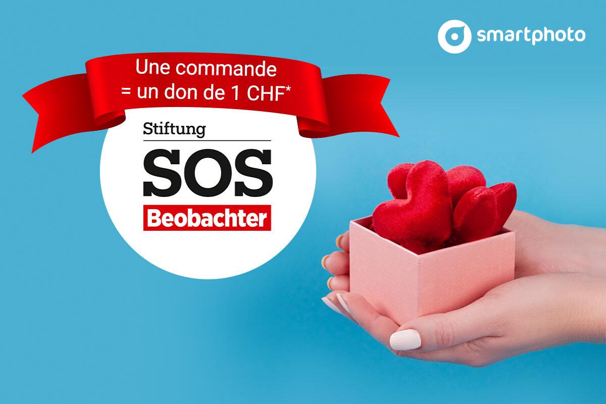 SOS Beobachter et smartphoto: ensemble pour aider les personnes dans le besoin