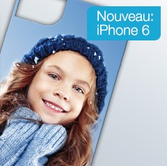Nouvelle coque photo pour l'iPhone 6