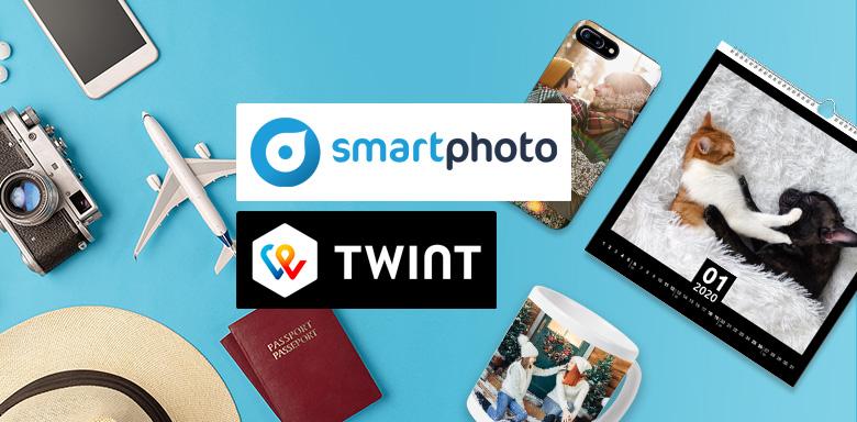 Le service photo en ligne smartphoto propose désormais TWINT comme option de paiement