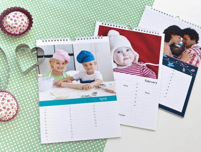 Neue Designs bei Kalendern und Agenden
