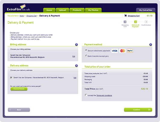screenshot payment methods