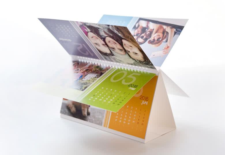 Visualization of the Desk Calendar
