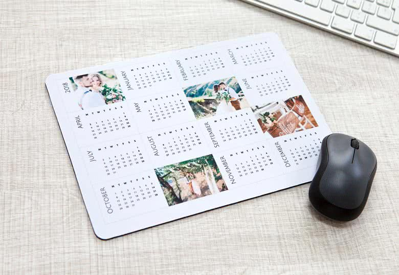 Create your Mouse Pad Calendar