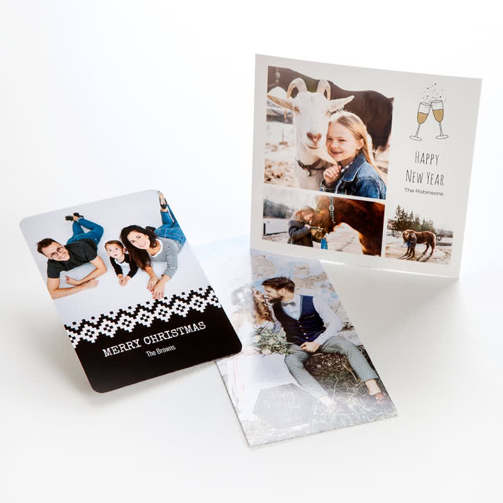 Personalised Photo Cards Make Your Own Cards Online Smartphoto Uk