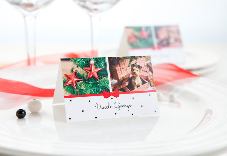 create personalised place cards at smartphoto