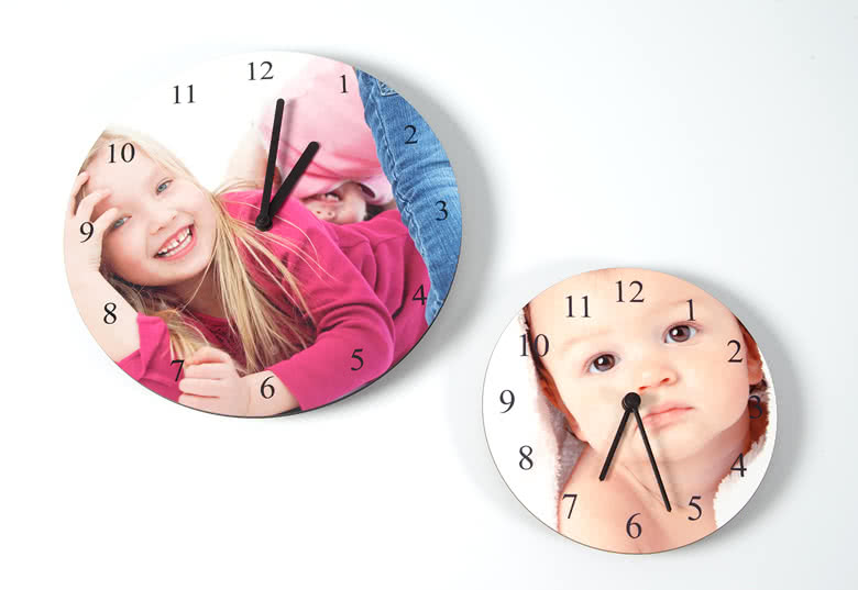 Order your own photo clock