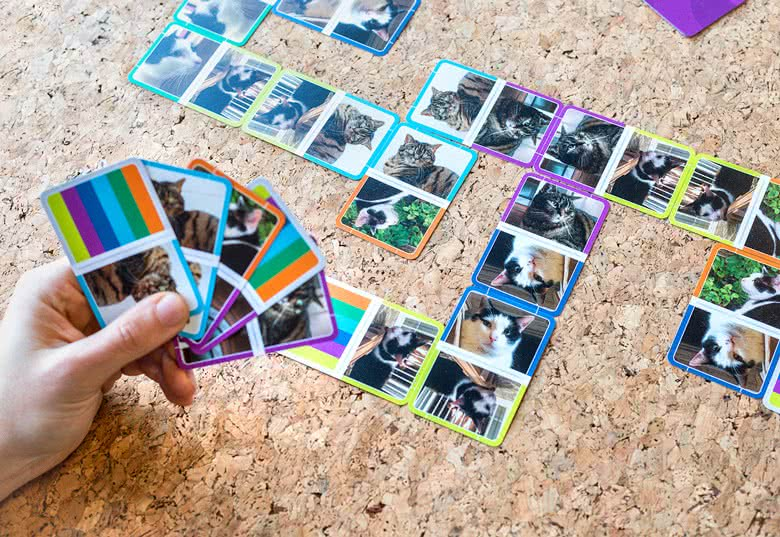 Yksilöidyt Domino-kortit