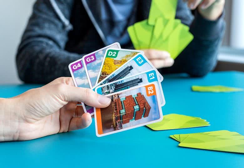 Skab kvartetkort