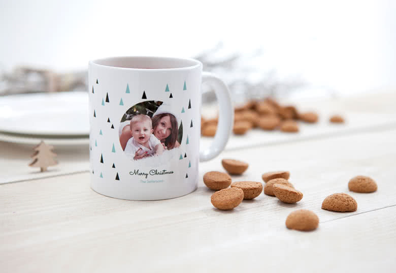 Drink your tea from your personalised mug