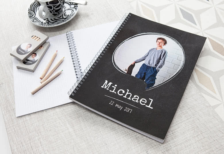 Order your own Notebook
