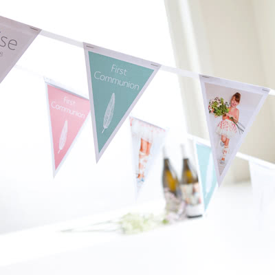 Create Party Flags with photo
