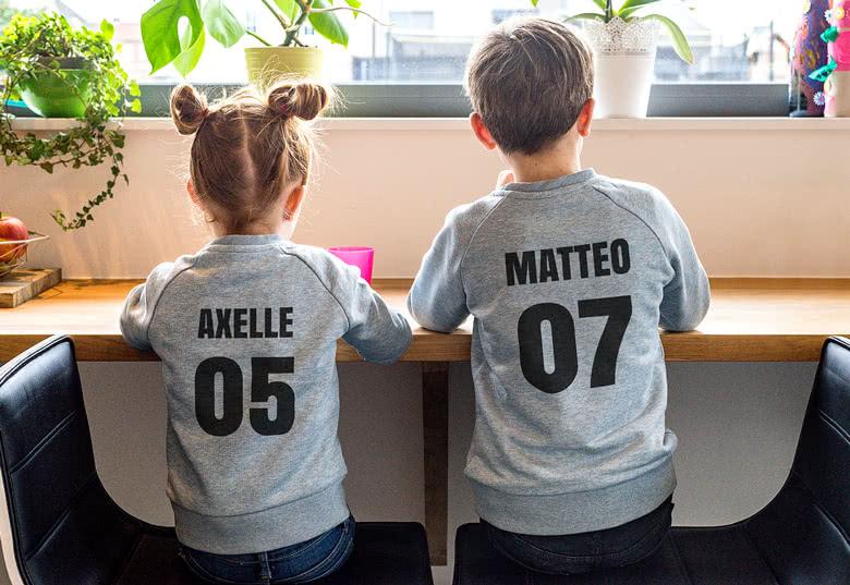 Create a sweatshirt for children