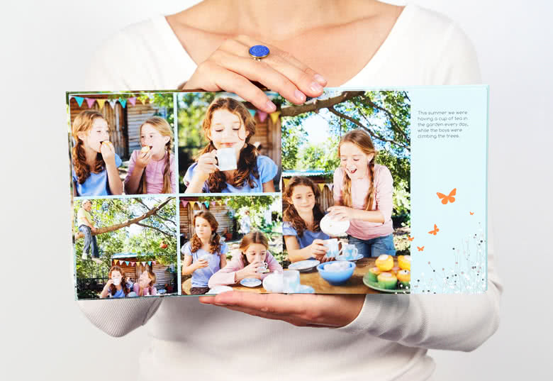Photo Book Large Square Hard Cover