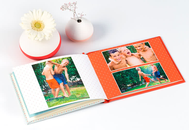 Photo Book Medium Landscape Hard Cover