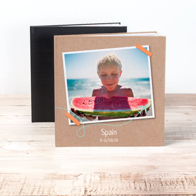 Livre photo XL carré - couverture rigide