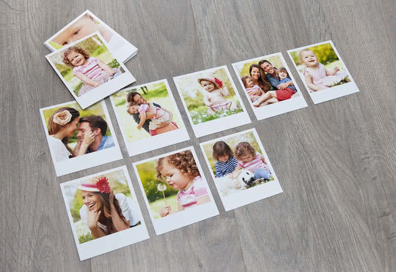 High quality photo paper with a glossy finish