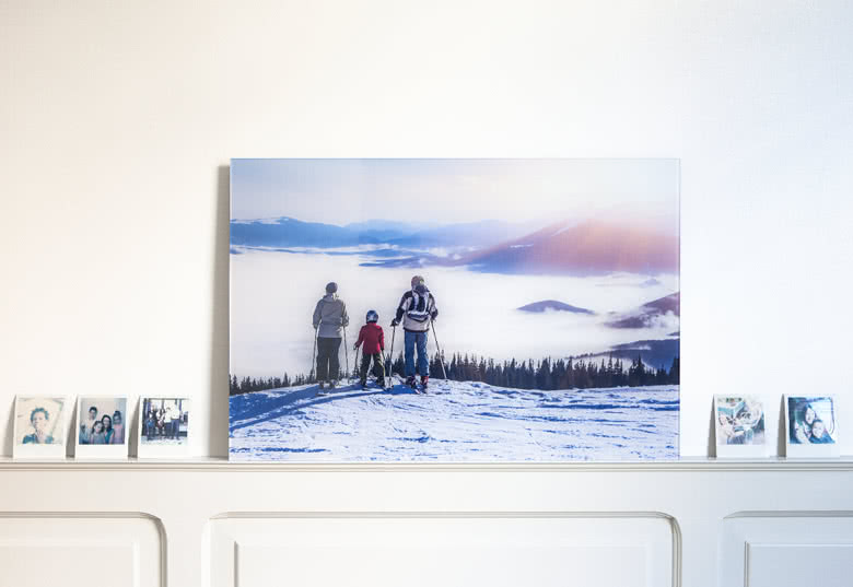 Foto hinter Acrylglas gestalten