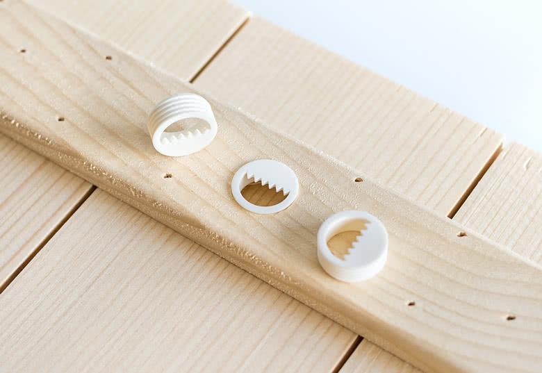 Je crée ma photo sur planches en bois