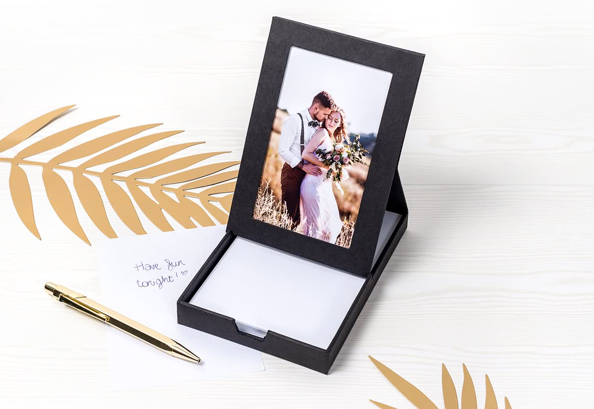 Photo Memo Box the perfect way to freshen up your desk ...