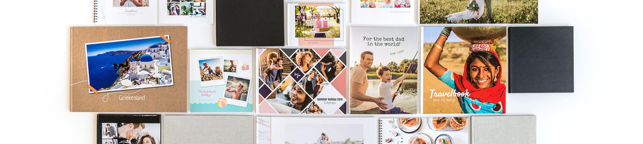 Fotobøker - Lag personlige Fotobøker av både hverdagshendelser og spesielle anledninger!