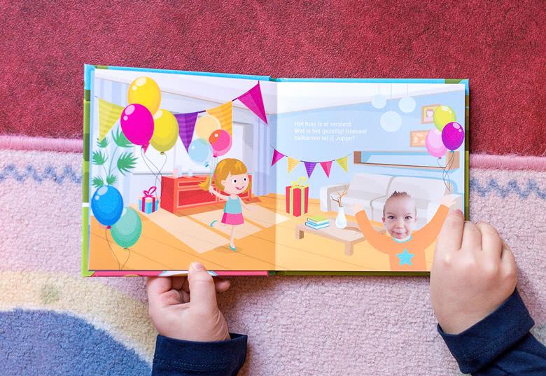 Maak een Voorleesboekjes voor Jongens - Verjaardag
