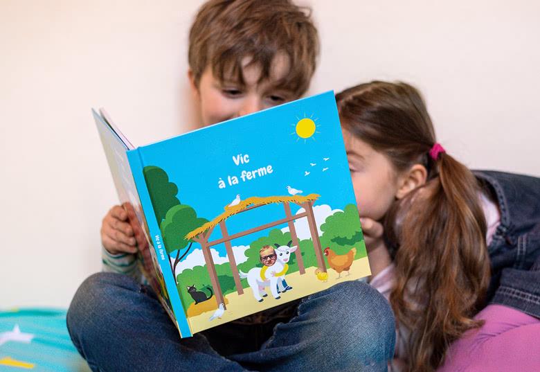 Livre de lecture Excursion garçon