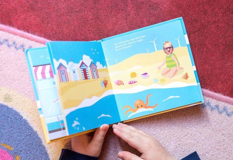 Erstellen Sie ein Lesebuch Ausflug für Jungen