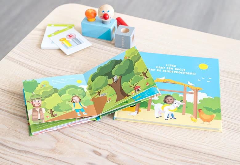 Erstellen Sie ein Lesebuch Ausflug für Mädchen