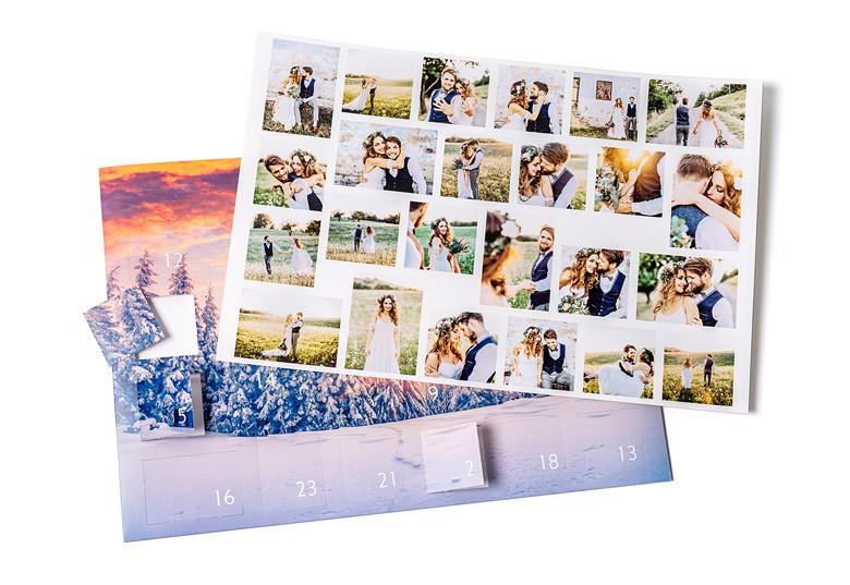 Adventskalender met foto's