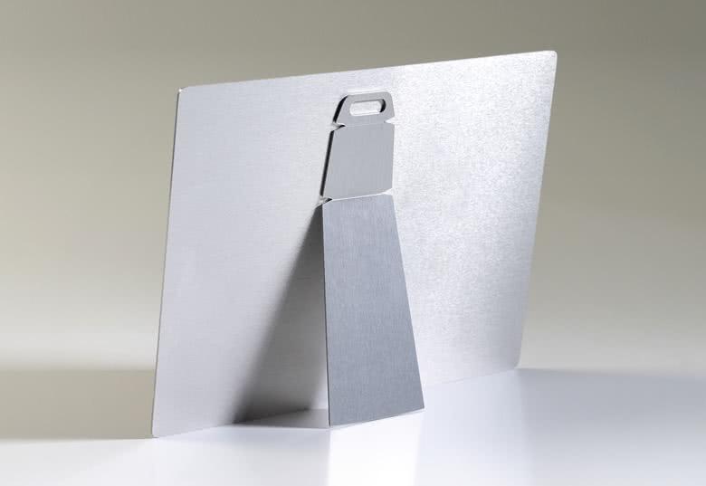 Kalender op aluminium