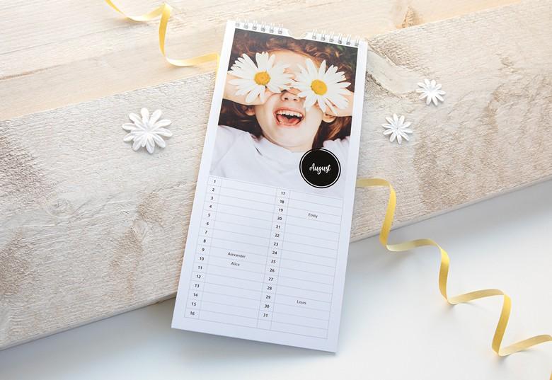 Tee Syntymäpäiväkalenteri