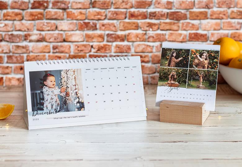 Personaliseer je Bureaukalender met je foto's