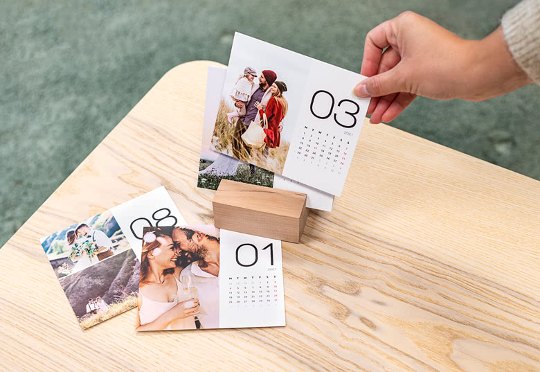 Create your own Desk Calendar