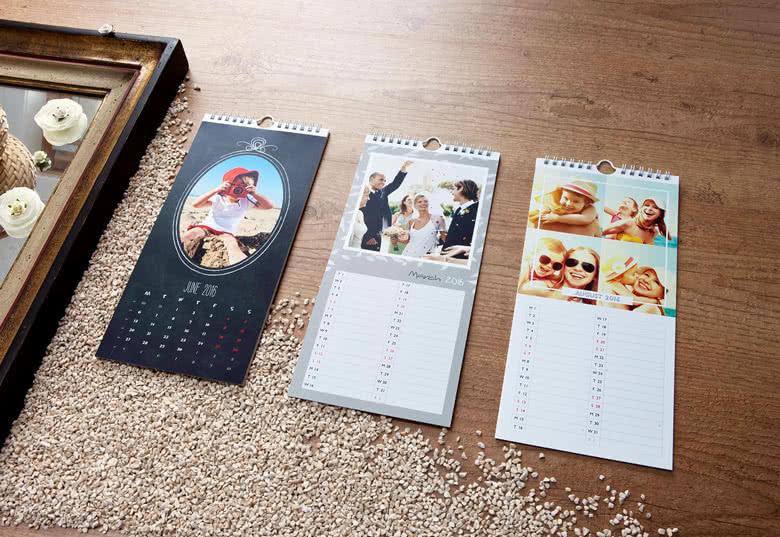 Ein Küchen-Wandkalender mit Ihren schönsten Fotos