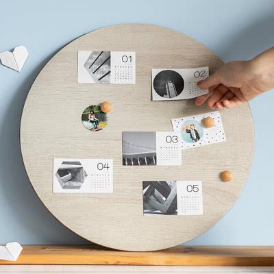 Kalender op magneten