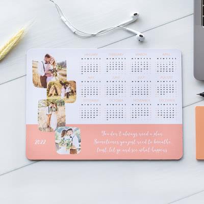 Muismat met kalender