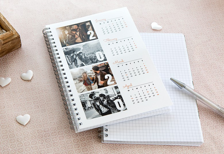 Cahier photo calendrier