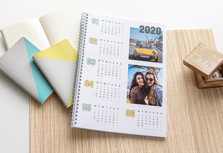 Photo Calendar Notebook