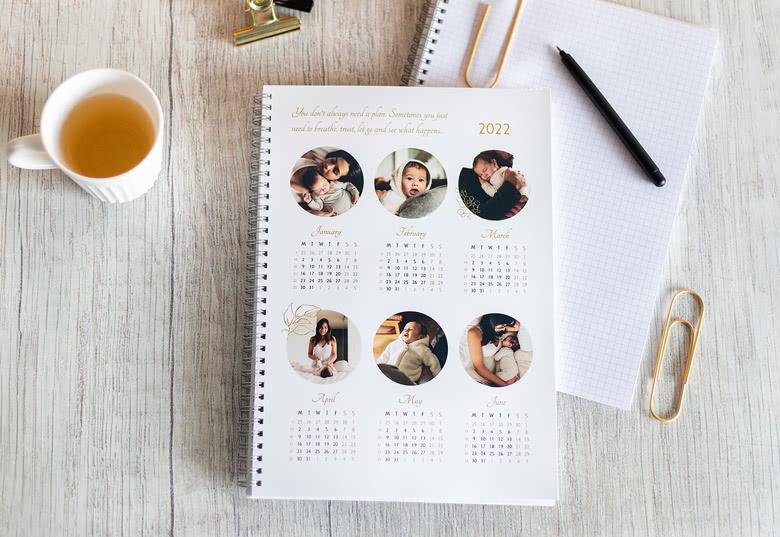 Photo Calendar Notebook