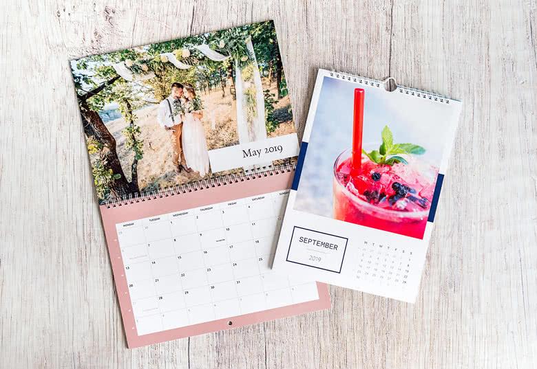 Gestalten Sie Ihren eigenen Wandkalender