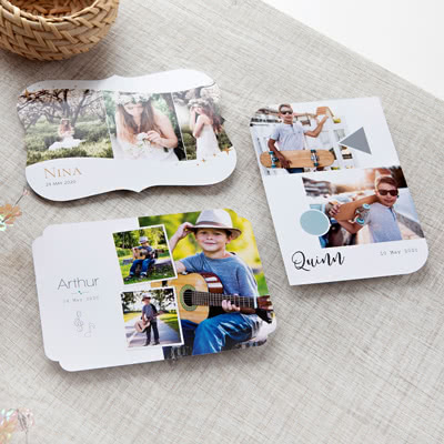 Photo Cards Creative Shape