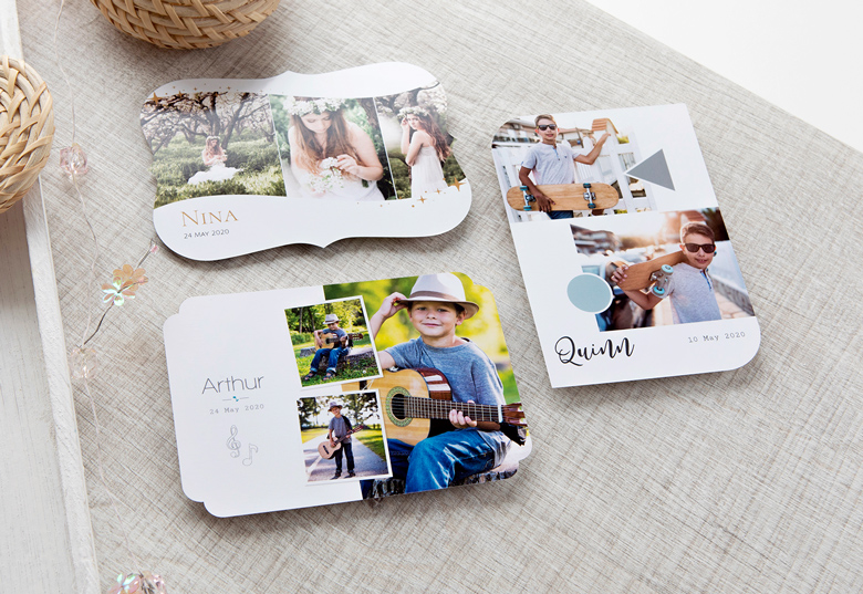 Make Photo Cards Creative Shape