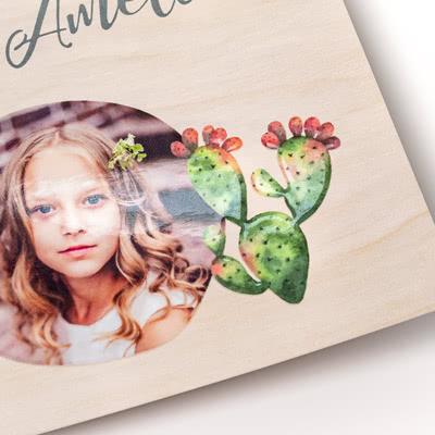 Fotokaart met glanzend reliëf Verticaal