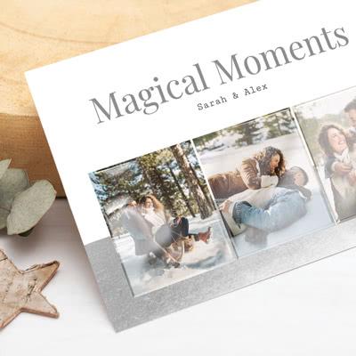 Fotokaart met glanzend reliëf Horizontaal