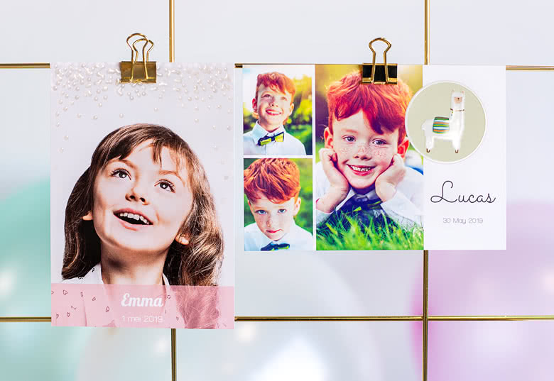 Create Photo Cards with spot UV
