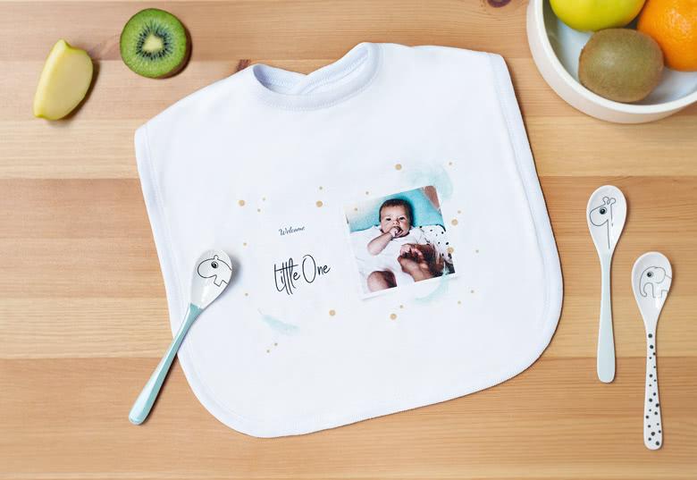 Tee yksilöllinen Ruokalappu vauvalle