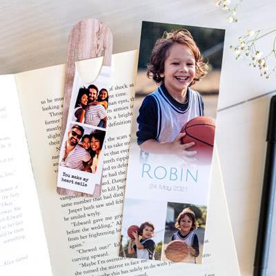 Bokmärke Papper (Set om 5)